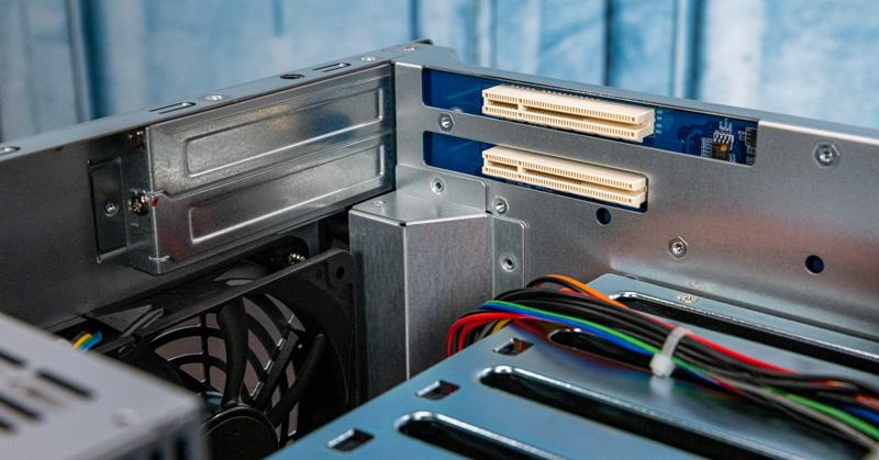 QNAP TS 873A Internal PCIe Gen3 Slots