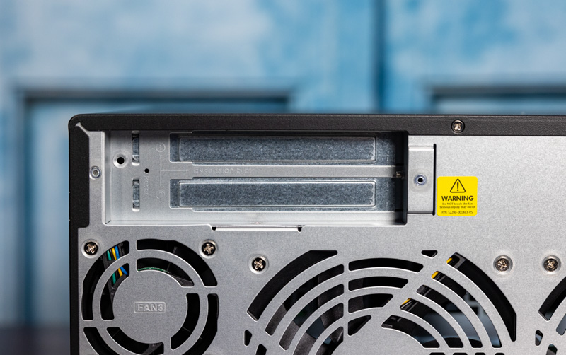 QNAP TS 873A Rear PCIe Expansion Slots