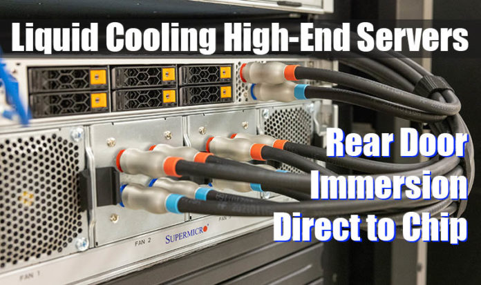 Supermicro Liquid Cooling High End Servers Cover Image