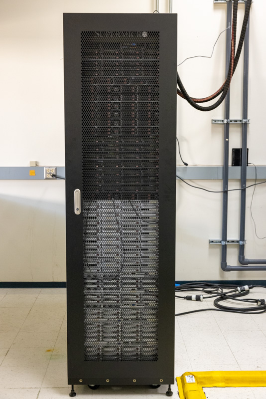 Supermicro Liquid Cooling Rear Door Heat Exchanger Rack With Standard Servers 2