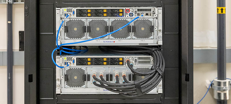 Supermicro Liquid Cooling Supermicro AS 4124GO NART Air And Liquid Cooled Front