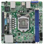 ASRock Rack E3C256D2I MITX Motherboard Top