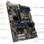 ASUS P12R E 10G 2T ATX Motherboard Features