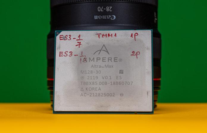 Ampere Altra Max M128 30 Front Close