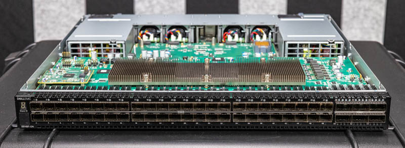 Dell EMC Networking S5148F ON Front Lower Angle