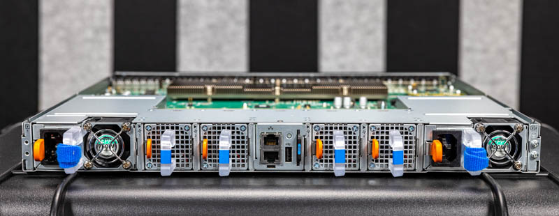 Dell EMC Networking S5148F ON Rear 1