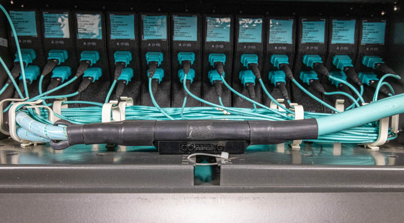 Fiber Optic Cassettes Corning CCH 04U Rear Internal Corning