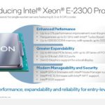 Intel Xeon E 2300 Series Launch Overview