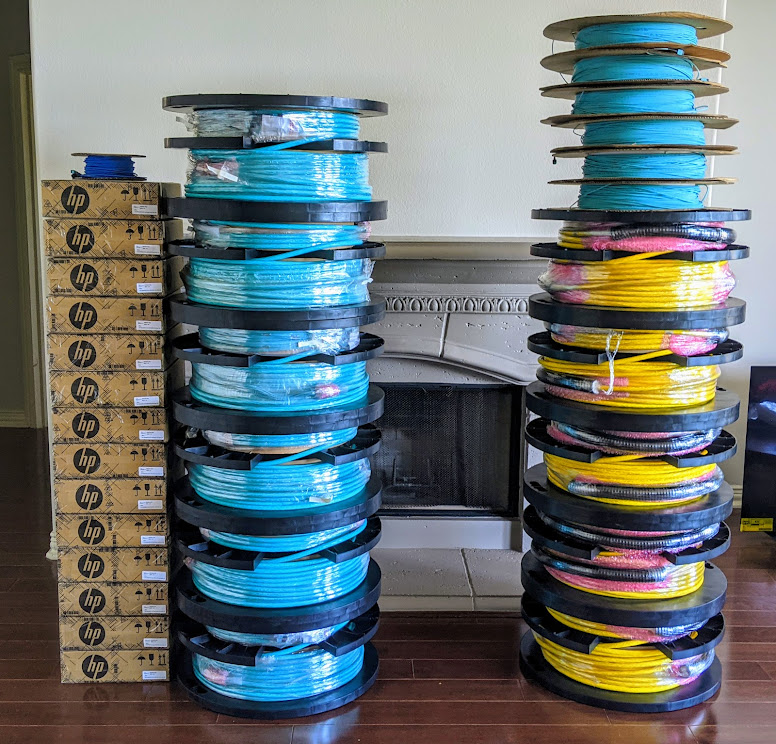 MTP 12 Spools Ready For September 2021 Install