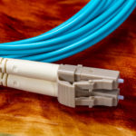 Multi Mode OM4 Fiber Optic Cable LC Connector
