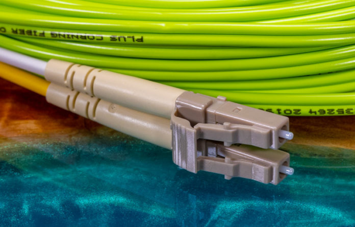 Multi Mode OM5 Fiber Optic Cable LC Connector