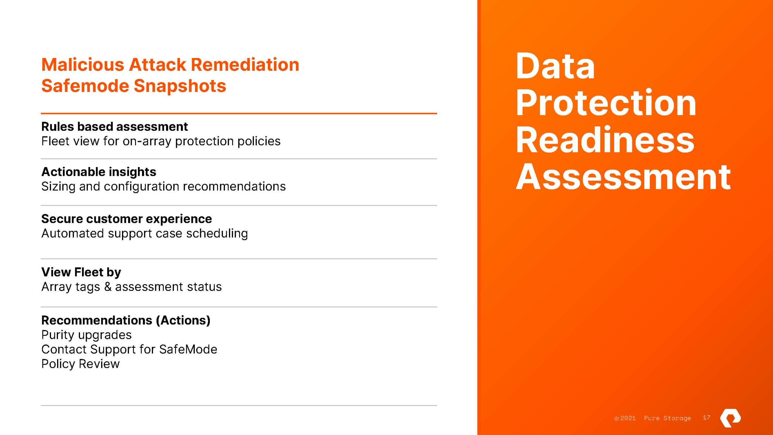 Pure Storage Pure Fusion And Portworx Data Services Data Protection Readiness
