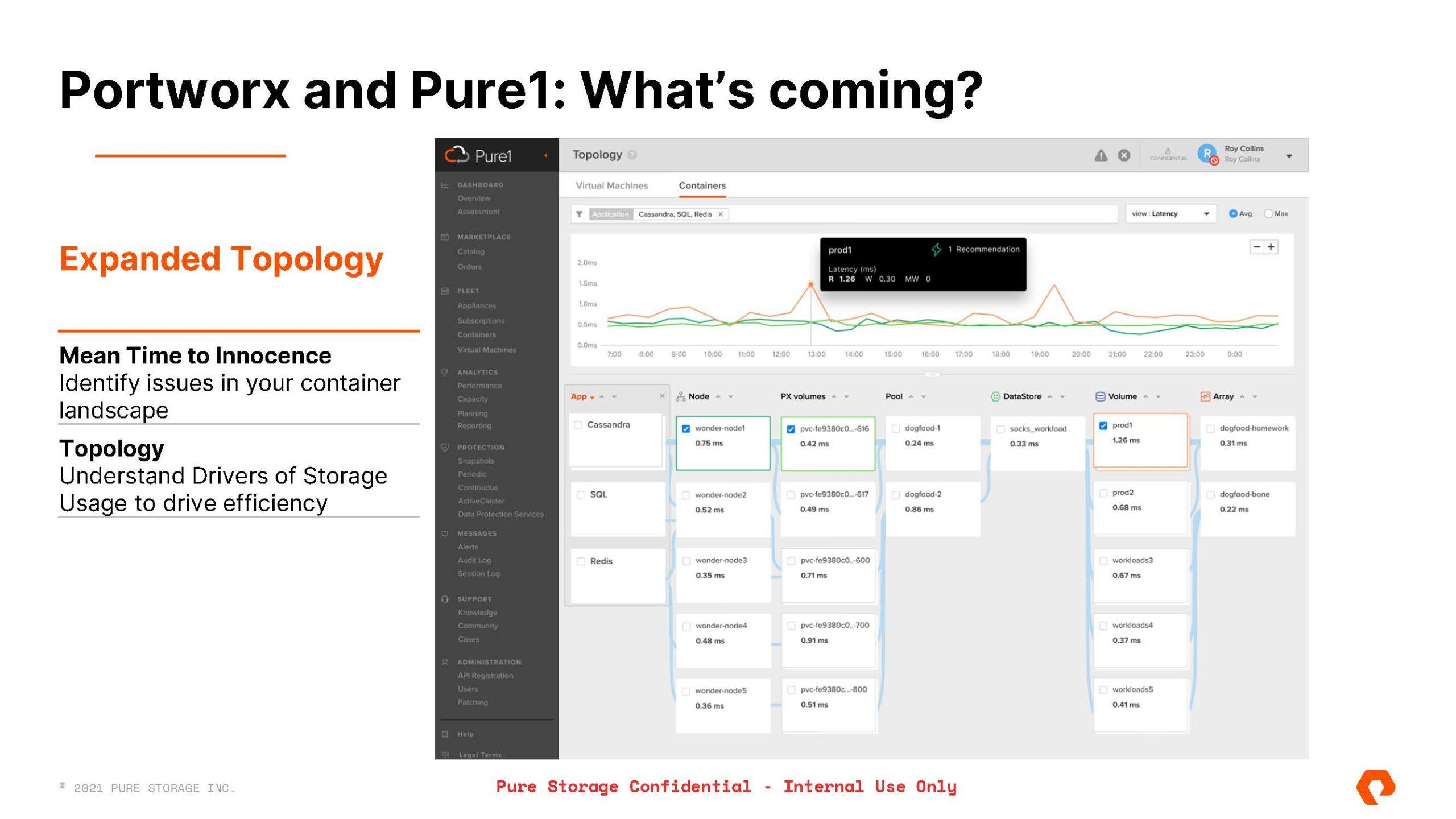 Pure Storage Pure Fusion And Portworx Data Services Portworx And Pure1