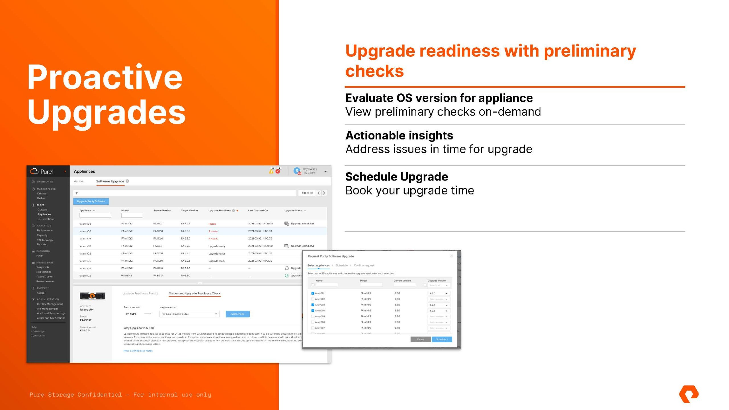 Pure Storage Pure Fusion And Portworx Data Services Proactive Recommendations