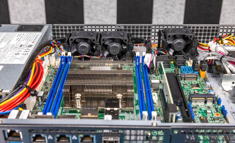 Supermicro SYS 5019D 4C FN8TP CPU Area No Shroud