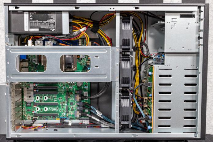 Tyan Transport HX FT65T B8030 Internal Overview