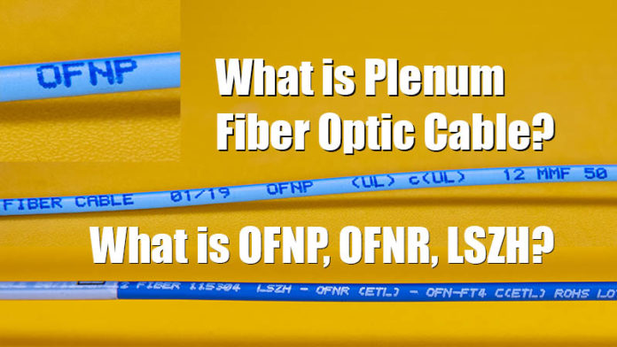 What Is A Plenum Fiber Optic Cable Web Cover