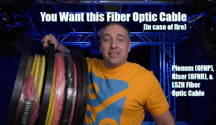 You Want This Fiber Optic Cable Plenum OFNR Web Cover