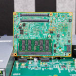 Dell EMC Networking S5232F ON Underneath Management Board With Denverton Intel Atom C3000