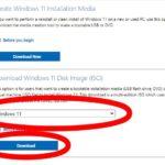 Microsoft Windows 11 Download ISO Cover