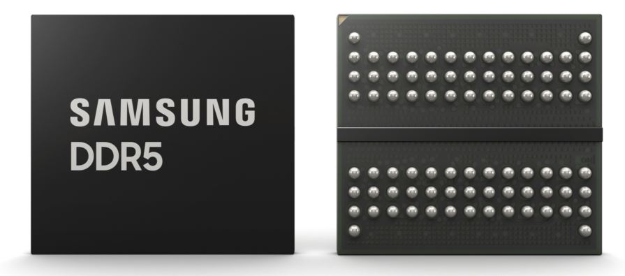 Samsung DDR5 Package